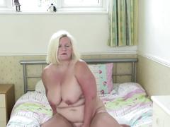 Real granny with thirsty vagina