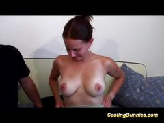 Her first porn casting