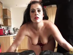 big ass, fetish, anal, rough sex, pascalssubsluts, mom, mother, big-butt, ass-fuck, rough, cum-in-mouth, face-slapping, orgasm, spanking, domination, spitting, british, brunette, gag
