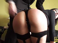 Pascals subsluts dominated amateur gets her pu...