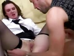 Cute french milf loves fucked in pussy and ass