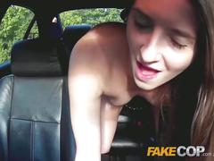 Fake cop fruit pickers tight pussy fucked hard