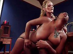 Mona has a big ass to spank