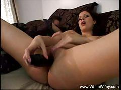 White wifey gianna michaels wants big black co...