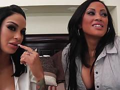 Elegant angel us babes angelina valentine and...