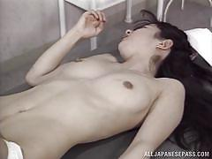 milf, japanese, nurse, blowjob, fingering, censored, hospital room, hard fucking, jp nurse, all japanese pass, hitomi kouya