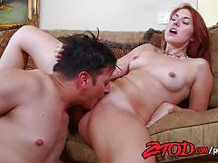 Ztod sexy redhead nanny loves to fuck