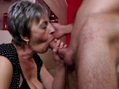 Taboo coffee brake with mature not mother