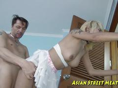 Bugger anal blond asian