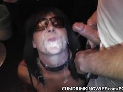 Slutwife marion gets fucked by plenty of cocks