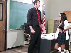 Brazzers network cock hungry schoolgirl anya i...