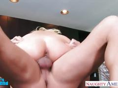 Sexy blonde aaliyah love gets nailed
