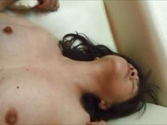 Horny japanese milf  kui somya  orgasm fuck on the sofa