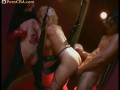 Threeome sex with michelle wild