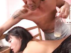 Bottles of cum over japanese gyaru uta kohaku subtitled