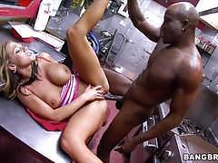 Bangbros network black cock slamming nikki sex...