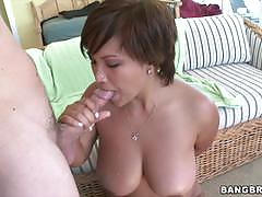 Bangbros network busty asian rides on top