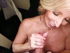 51yr old step-mom handjob