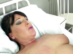 Hot old and young lesbians fuck in hospital