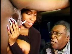 Vanessa blue with extremely long nails take a bbc