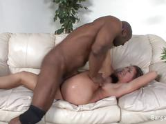 Hottie rilynn rae gets an interracial fuck