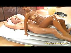 Slippery massage wet and wild nuru massage