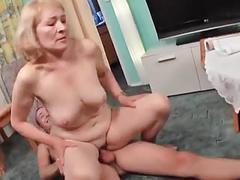 Ass licker granny