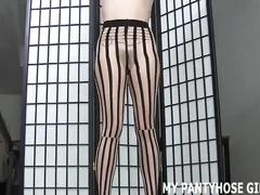I heard that you love women in sexy pantyhose joi