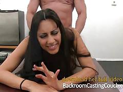 Backroom casting couch exotic babe auditions w...