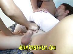 Cream and brown lesbian thai genuiine lovers