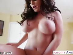 Sexy brunette housewife sophie dee fucking