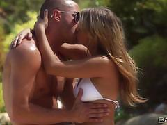 Babes blistering hot sex for beautiful blonde...
