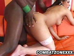 Combat zone xxx racy carmen michaels takes on...