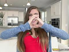 Reality kings hot teen skye west - massive coc...