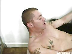 Gay lovers rim and suck each other off