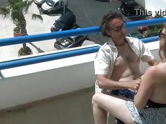Exhib en baise anal en cam voyeur avec couple amateur francais