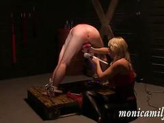 Inside monicamilf s dungeon - 30 min femdom slave