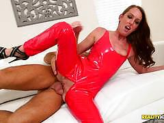 Dressed and fucked deep aria xcite with huge cock