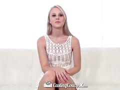 Castingcouch -x - cute lily rader swallows the casting agents cum