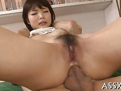 Exquisite japanese anal drilling sexy