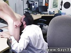 Hot big guy gets dicked doggy style for pawn shop cash