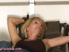 blonde, fetish, kink, tickling, ticklish, feet, foot, older-woman, mature, milf, bdsm, bondage, blond