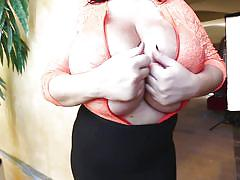 big tits, babe, huge tits, brunette, teasing, oiled tits, pinup, boobs groping, pinup files, leanne crow