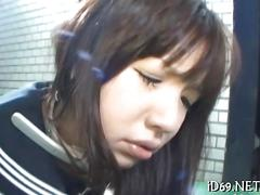 asian, hardcore, japanese, schoolgirl, teen, blowjob, fucking, sucking, closeup
