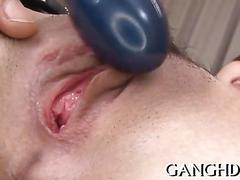 Satisfying asian blowbang japanese hard 1