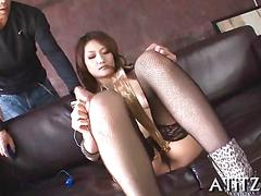 Tits fondling and fingering for asian film