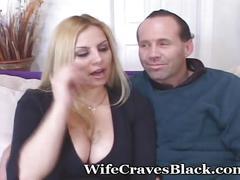 Curvy neighbor bangs black stranger