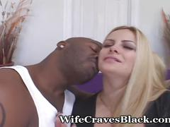 Curvy neighbor bangs black stranger