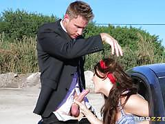 Brazzers network jojo kiss knows how to avoid...