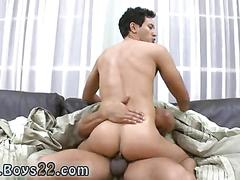 Fucking deep in the ass with his monster cock